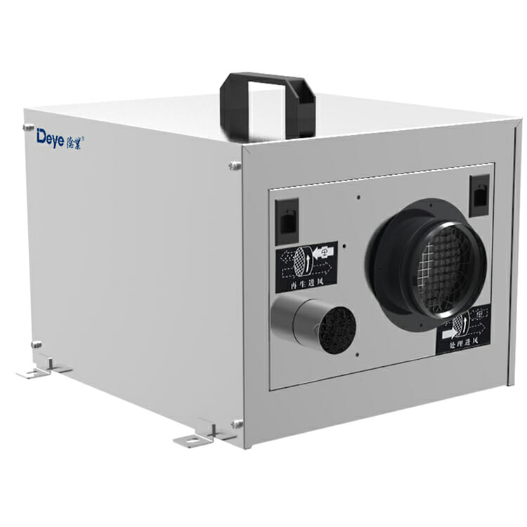 Low temperature dehumidifier