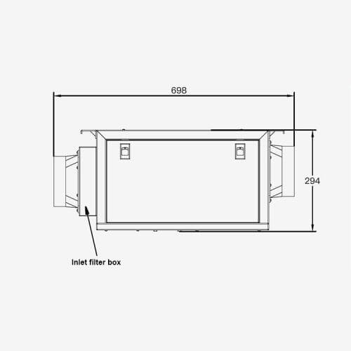 in wall dehumidifier