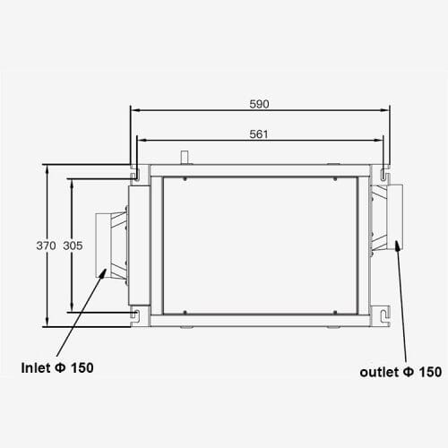 wall mount dehumidifier