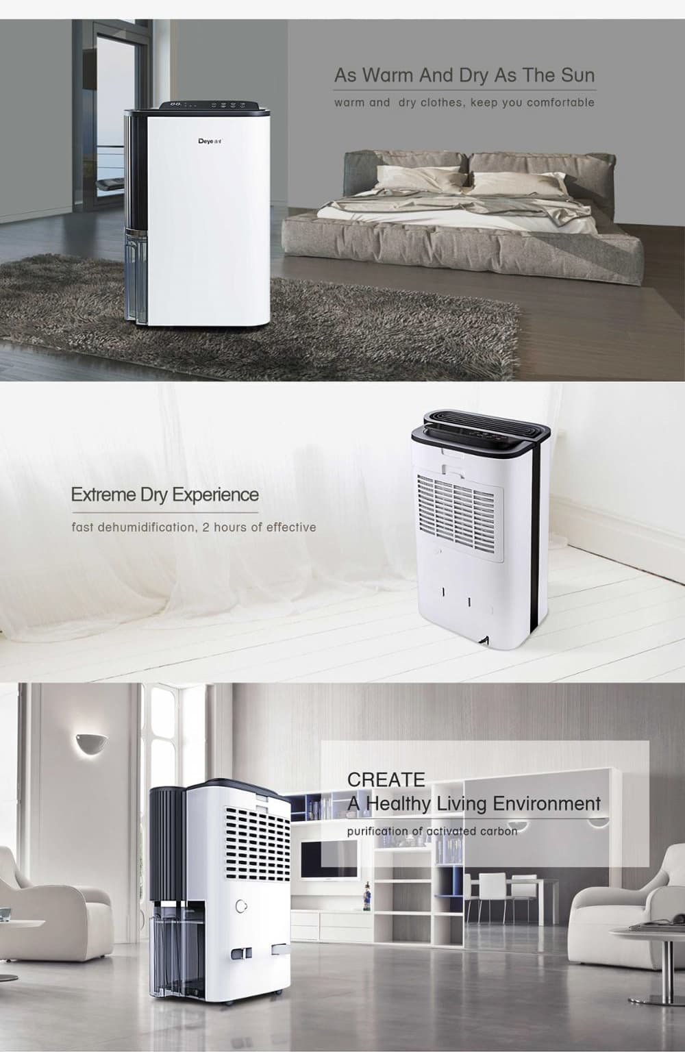 Home dehumidifier suit
