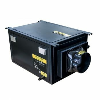 ducted dehumidifier for basement